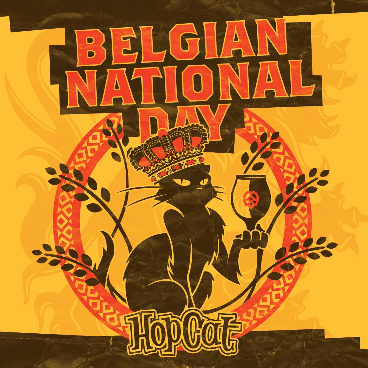 Belgian National Day is July 21